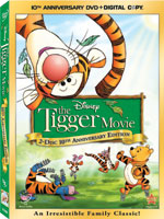 Tigger Movie DVD Box Art
