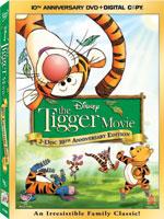 Tigger Movie DVD Box Art
