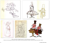 Pre-production artwork from the book