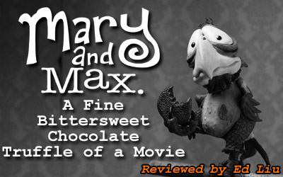 Toon Zone Talkback Mary And Max Anime Superhero Forum