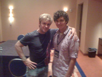 Vic Mignogna and Nick Hobbs