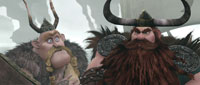 Gobber and Stoick