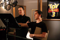 Tom Hanks and 'Toy Story 3' director Lee Unkrich