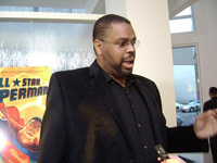 Dwayne McDuffie at All-Star Superman Premiere in Los Angeles