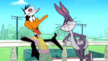See Bugs Bunny's face? It looks just like mine did while I was watching this DVD