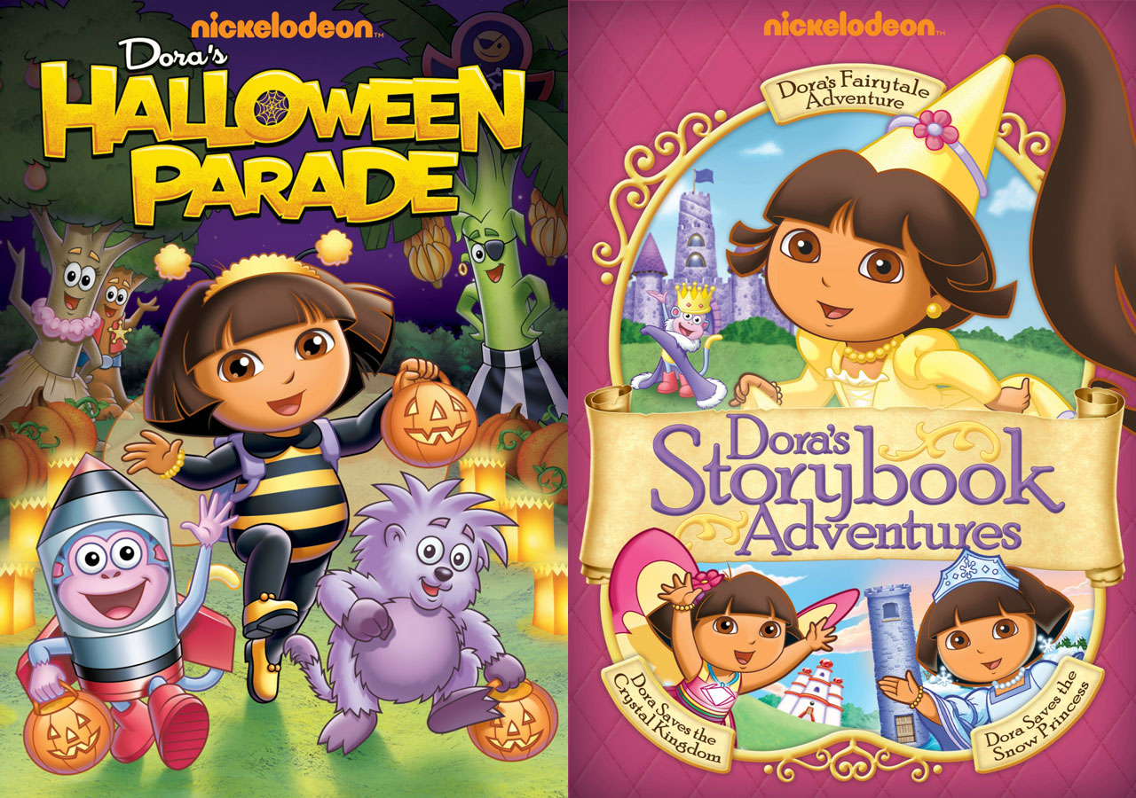 also recently released on dvd is doras halloween parade even if releasing a halloween themed dvd at the end of august makes as much sense as releasing the