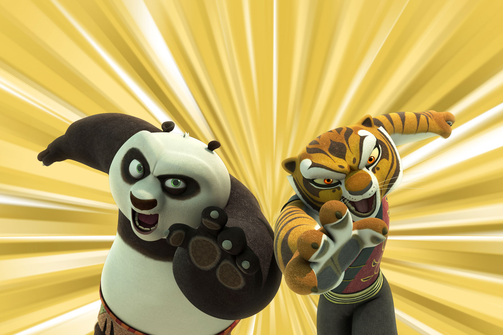 Kung Fu Panda Legends Of Awesomeness Only Half A Loaf Of Kung