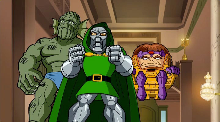 Image result for superhero squad show dr doom