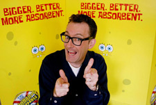Tom Kenny Is a Crazy Man