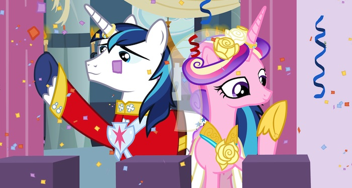 This Is The Talkback Thread For My Little Pony Fim A Canterlot Wedding Isn T Quite Match Made In Heaven