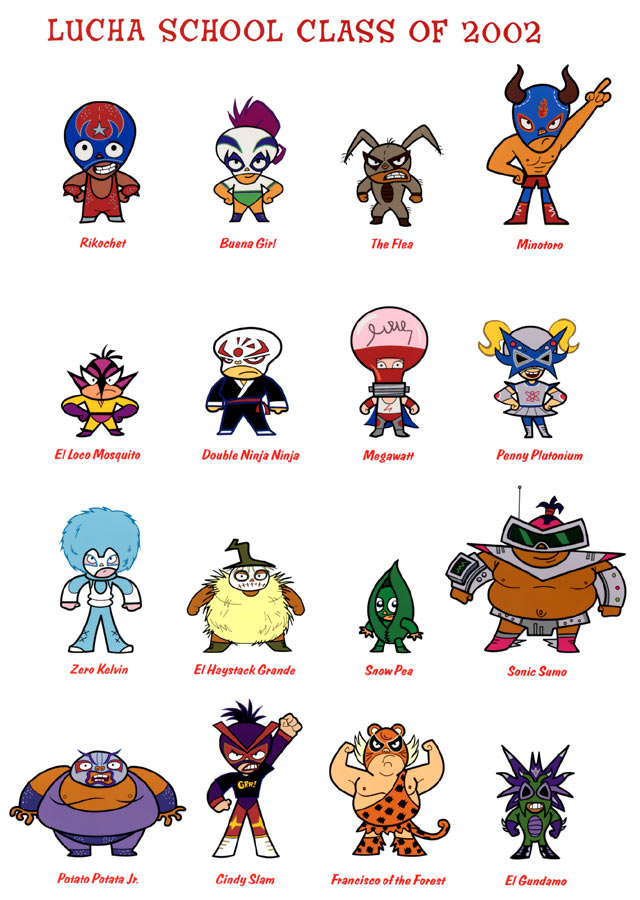 161 Mucha Lucha Preview Bios Pictures Video Clip And