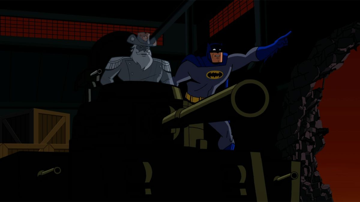 Batman the Brave and the Bold Menace of the Madniks!