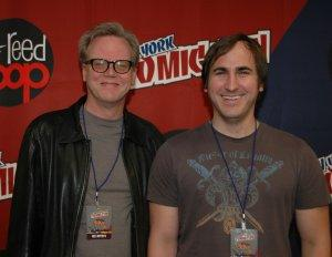 Bruce Timm and Michael Jelenic - New York Comic Con 2010