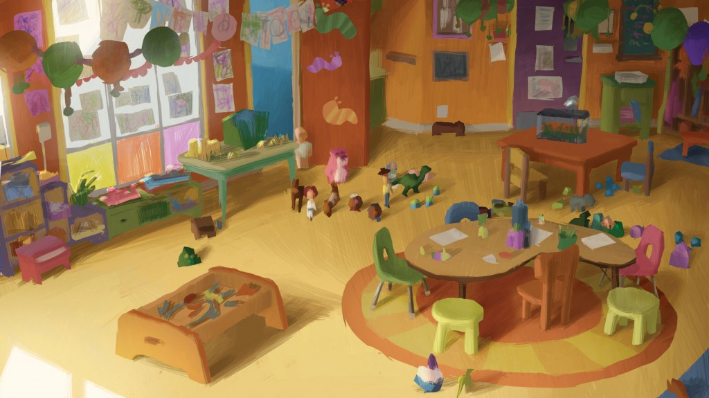 Quot Toy Story 3 Quot Storyboarding And Concept Artwork Toonzone
