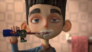 ParaNorman Brushing Teeth