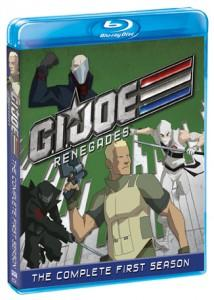 G.I. Joe Renegades Blu-ray Box Art