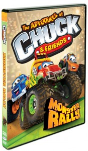 Chuck & Friends Monster Rally Box Art