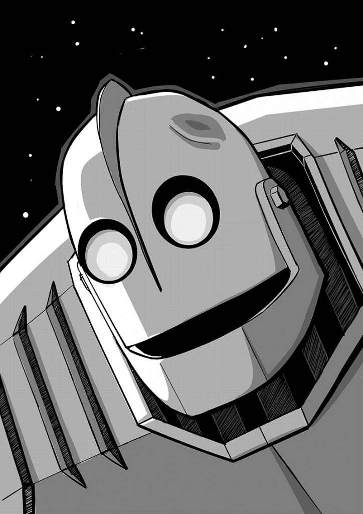 The Iron Giant Sketch Test