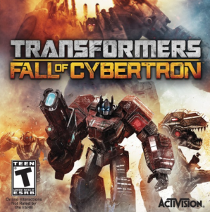 Transformers Fall of Cybertron Cover