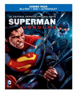 Superman: Unbound Blu-ray Box Art