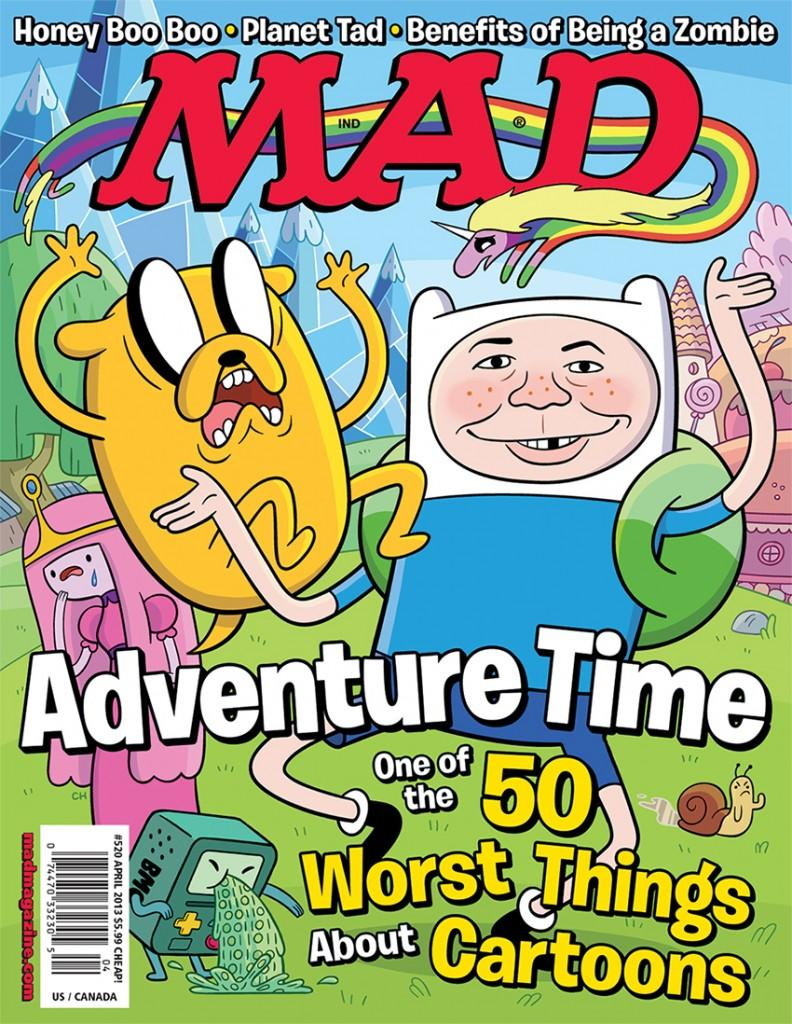 MAD Magazine 520 Cover 558