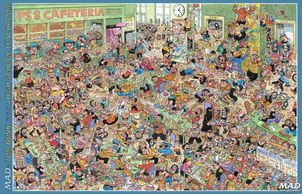 MAD Magazines Tom Bunk In 50 Worst Things About Cartoons
