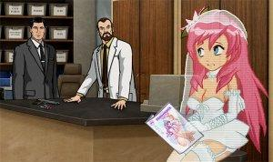 "Dr. Krieger's anime girlfriend reviews ""The Fisherman's Wife"" while waiting to go on their date."