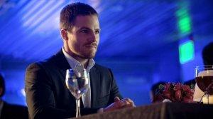 Oliver ponders why the writers gave him such a predictable dating sequence in yet did not fill his glass with red wine.