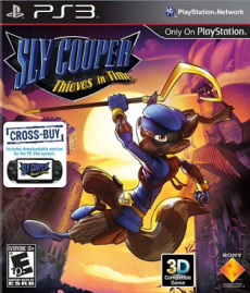 Sly Cooper-Thieves in Time Cover