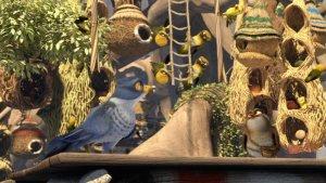Adventures in Zambezia Kai, Ezee, and weaver birds