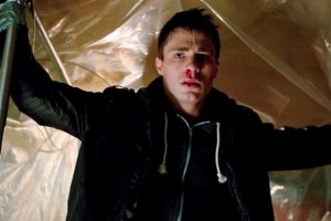 Roy Harper [Colton Haynes] tries to figure out where it all went wrong for him and subway trains.