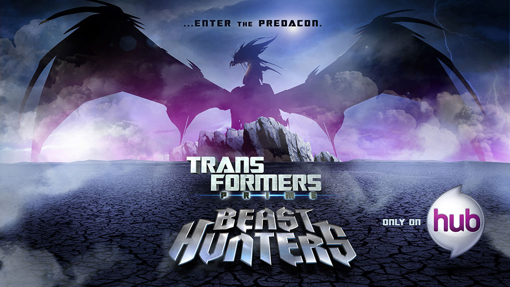 Transformers Prime Beast Hunters Key Art Predaking