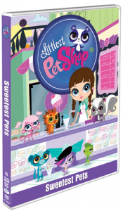Littlest Pet Shop Sweetest Pets DVD Box Art