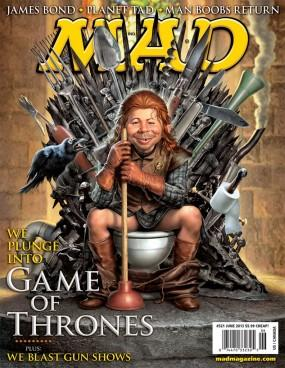 MAD Magazine 521 Cover #AB1