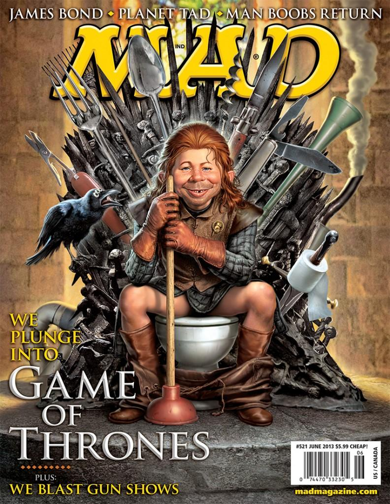 MAD Magazine 521 Cover #AB1