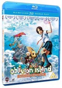 Oblivion Island: Haruka and the Magic Mirror Blu-ray (UK Edition) Box Art
