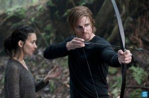 Shado teaches Oliver how to pull the strings to her heart.