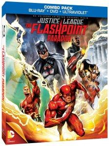 Justice League: The Flashpoint Paradox Blu-ray Box Art