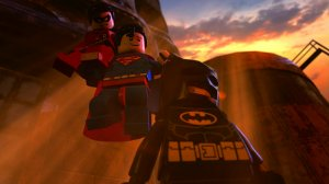 LEGO Batman the Movie - Superman, Robin, and Batman
