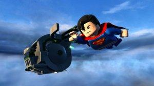LEGO Batman Superman Flying