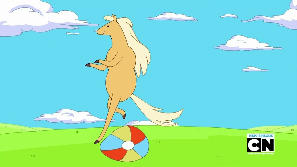 Adventure Time Baxter the Horse