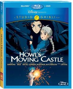 Howl's Moving Castle Blu-ray Box Art