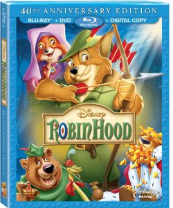 Robin Hood 40th Anniversary Blu-ray