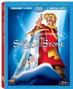 Sword in the Stone 50th Anniversary Blu-ray
