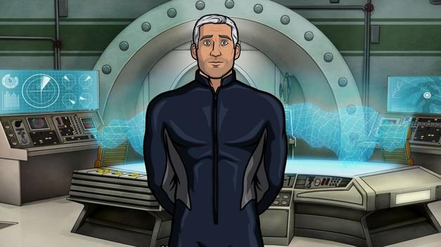 Jon Hamm voices the role of insane SEA LAB Captain Murphy in the season four finale of Archer.