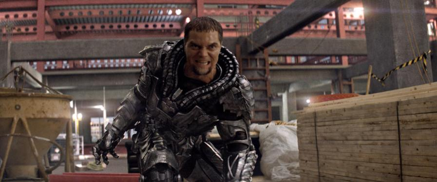 General Zod - GZ to his evil villain friends - is in no mood to mess around while he demands Earth cough up Superman to him.