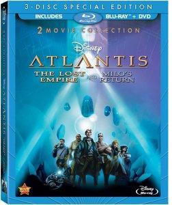 Atlantis The Lost Empire Blu-ray