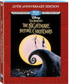 Nightmare Before Christmas 20th Anniversary Edition