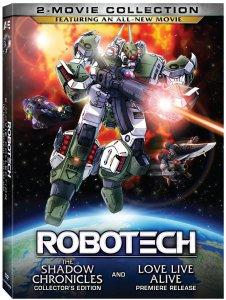 Robotech 2-Movie Collection DVD Box Art