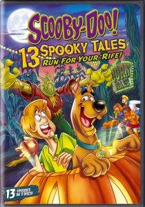 Scooby-Doo! 13 Spooky Tales Run For Your 'Rife DVD Art